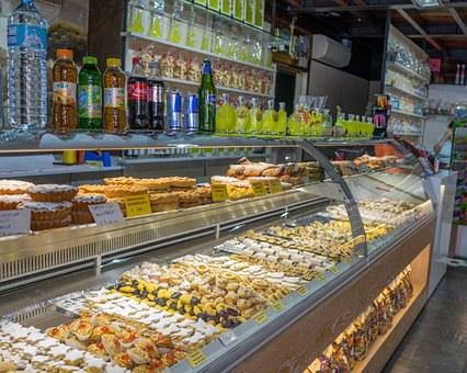 Wyposażenie sklepów cukierniczych