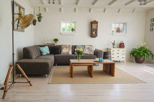 sofa tapicerowana z funkcją spania
