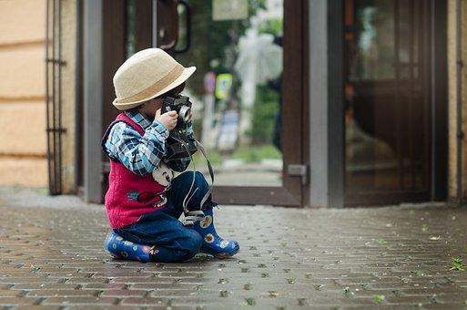 Sesja fotograficzna inspiracją dla małego dziecka