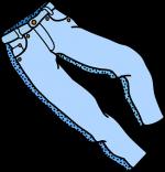 Czasami warto kupić spodnie w dużych rozmiarach