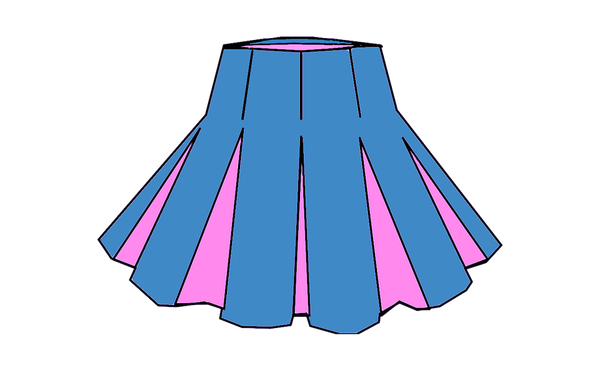 Midi spódnica na wiosnę