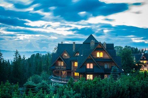 domy całoroczne drewniane w tatrach