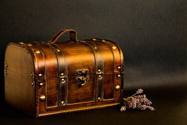 stylowy kuferek na kosmetyki podróżny
