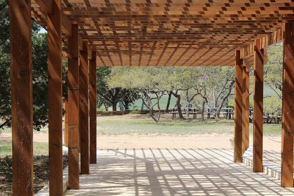 pergole tarasowe drewniane