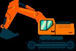 Ciężki sprzęt budowlany – koparko ładowarki