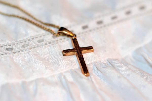 złoty łańcuszek z krzyżykiem - cena zestawu