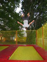 Własna trampolina do akrobacji