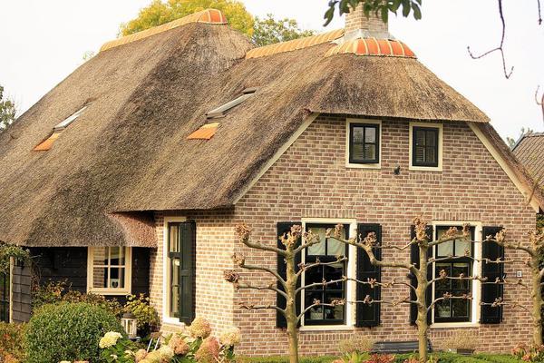 solidny dach ze strzechy
